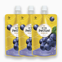 Re petitzel water jelly grapes 130ml %28pack of 3%29