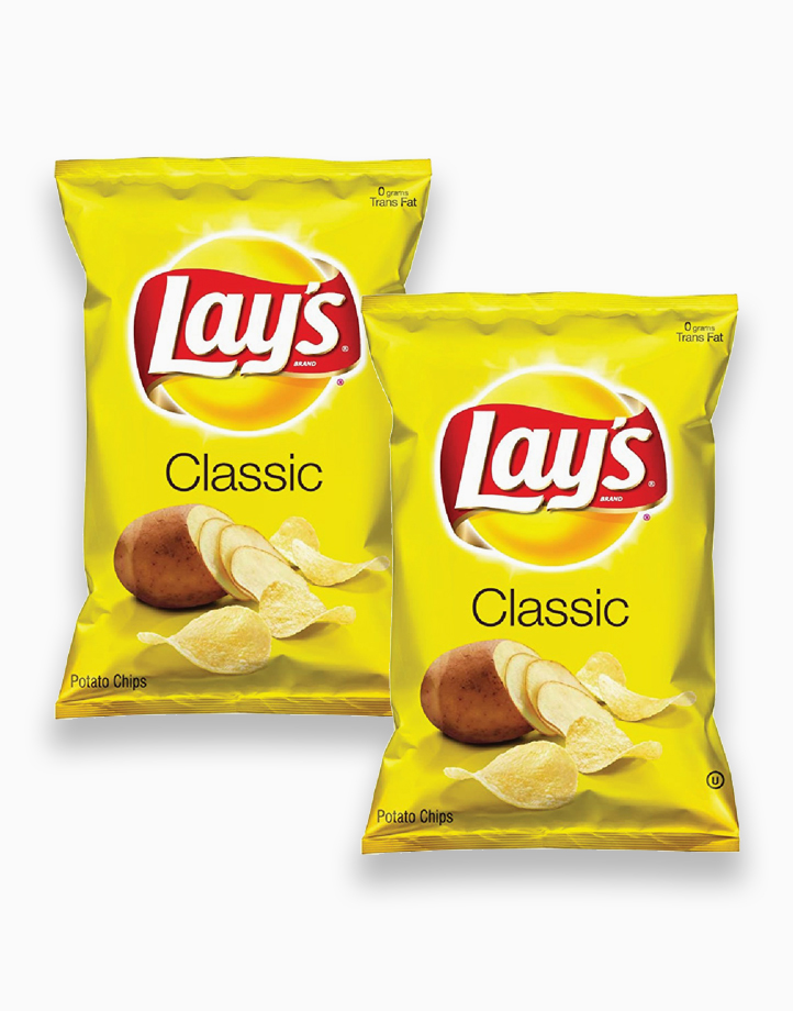 Lay's Regular Classic (Pack of 2) by Frito Lay