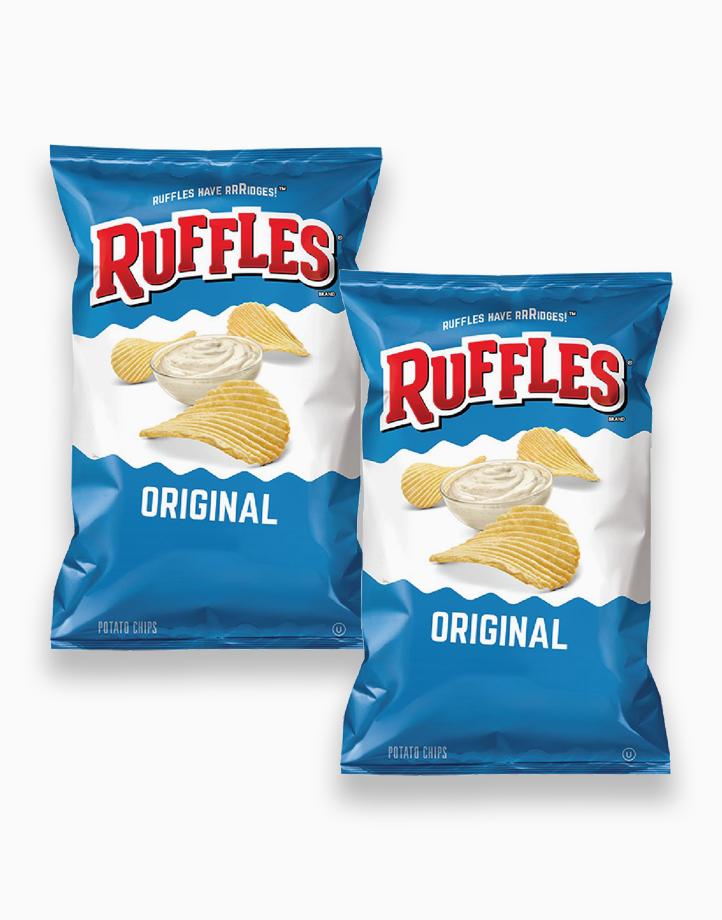 Ruffles Original (184.2g) - Pack of 2 by Frito Lay