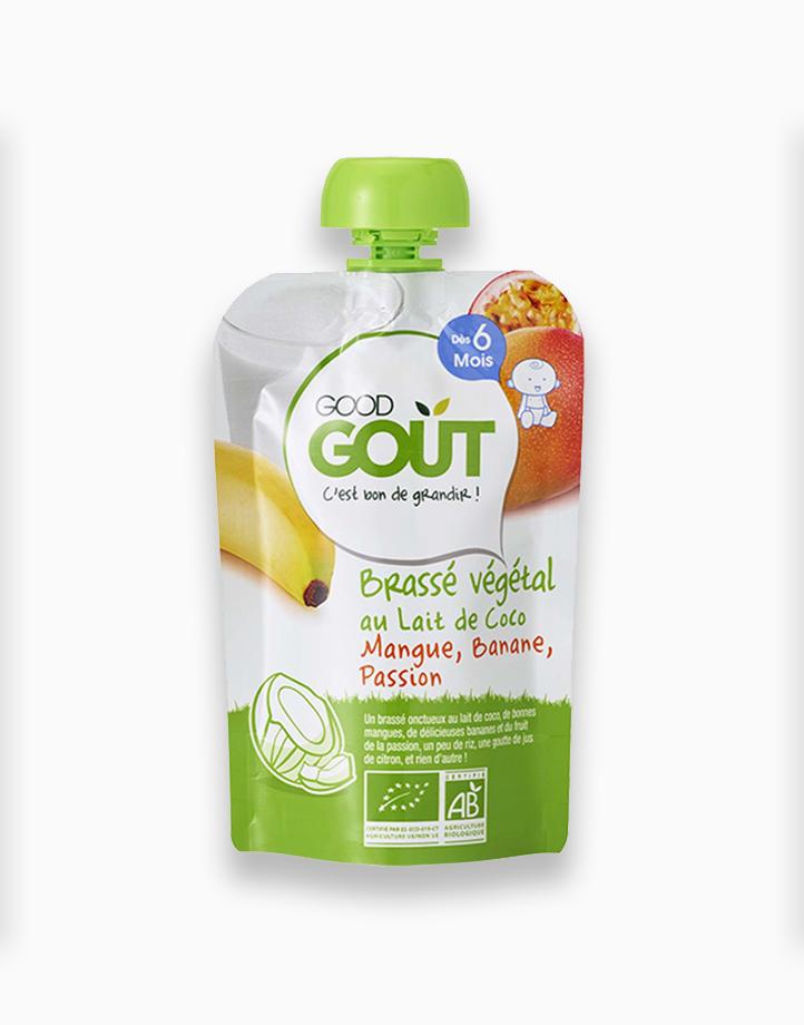 Coconut Milk, Mango, Banana, Passion Fruit (90g, 6 mos) by Good Goût