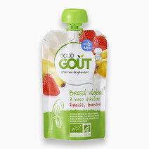 Oat, Strawberry, Banana (90g, 6 mos) by Good Goût