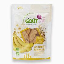 Squares Banana (50g, 8 mos) by Good Goût