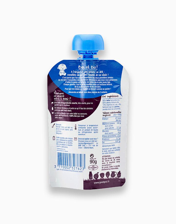 Yogurt (90g, 6 mos) by Good Goût | Pear and Blueberry