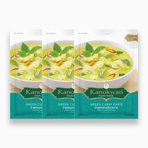 Re kanokwan green curry paste 50g %28pack of 3%29