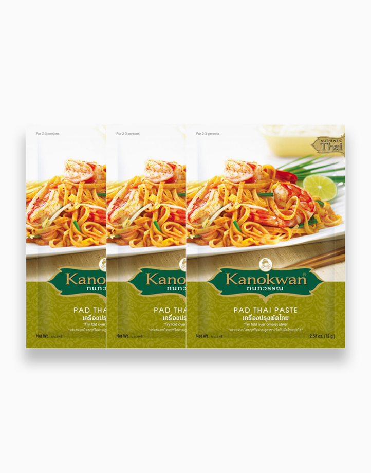 Pad Thai Paste (30g) - Pack of 3 by Kanokwan