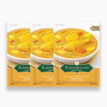 Re kanokwan yellow curry paste 50g %28pack of 3%29