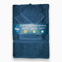 Antibacterial Face, Hand and Bath Towel Set - Indian Teal by Martel