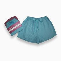 Sleep Shorts for Women - Blue Diamond by Martel