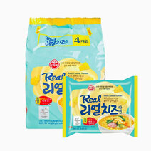 Real Cheese Ramen (4-Pack) by Ottogi
