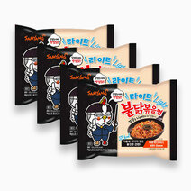 Samyang hot chicken light %2840 less spicy%29 110g %28pack of 4%29 copy 3