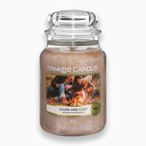 Yankee candle warm and cozy   classic large jar candle