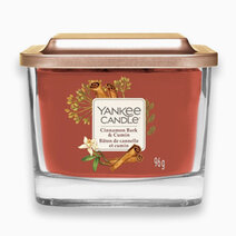 Yankee candle cinnamon bark   cumin   medium elevation candle