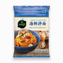 Bibigo korean noodle seafood flavor 233g
