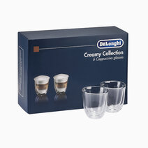 Delonghi double wall cappuccino glass %28set of 6%29
