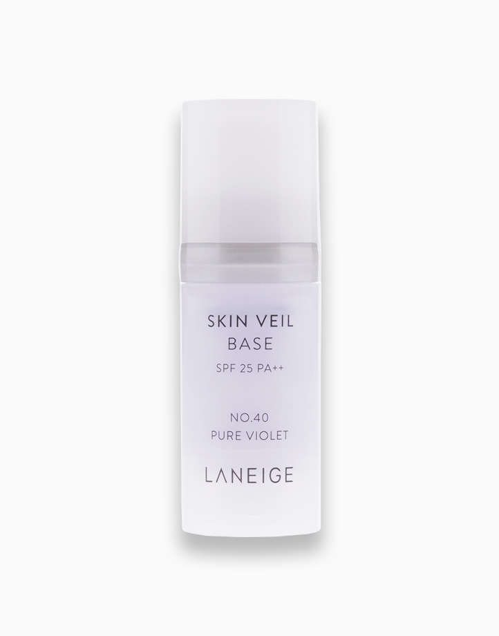 Skin Veil Base SPF25 PA++ in No. 40 Pure Violet by Laneige