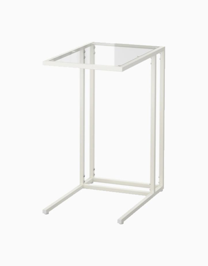 VITTSJO Laptop Stand Glass by Ikea | White