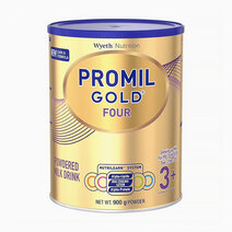 Wyeth promil gold  four powdered milk drink for pre schoolers over 3 years old  900g can