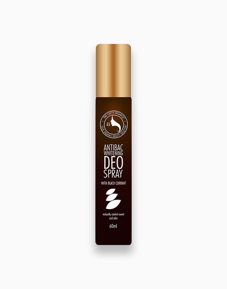 Antibacterial Whitening Deo-Spray (60ml) by One Earth Organics