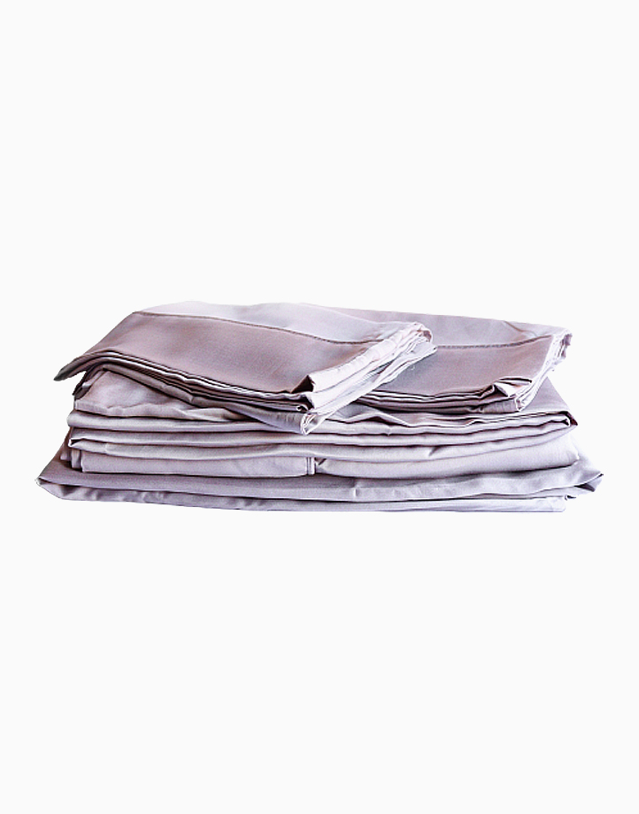 Hardcore Bamboo Bedding Bundle - 4in1 Queen Set by Mysa | Grey