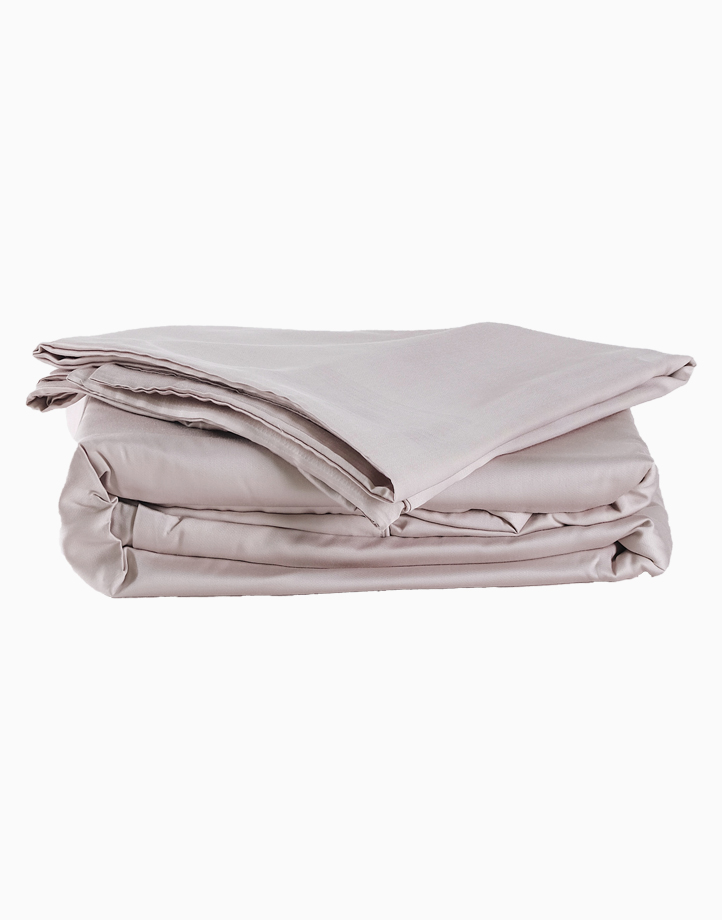 Classic Bamboo Bedding Set - 3in1 Queen Set by Mysa   Grey