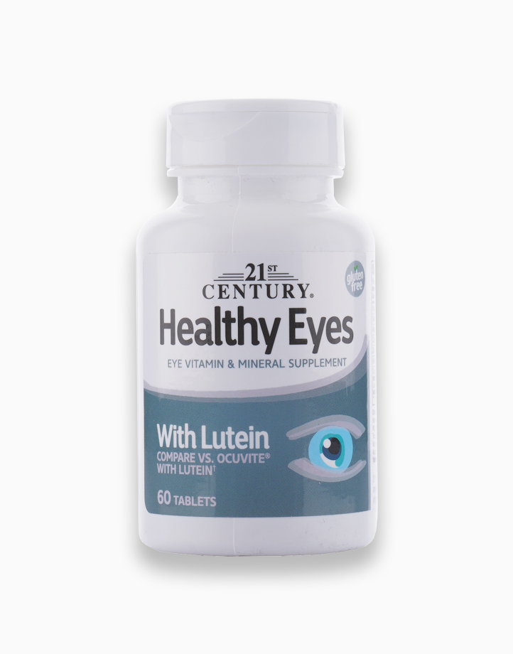 Healthy Eyes with Lutein (60 Tablets) by 21st Century