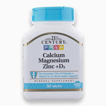 Calcium Magnesium Zinc+D3 (90Tabs) by 21st Century