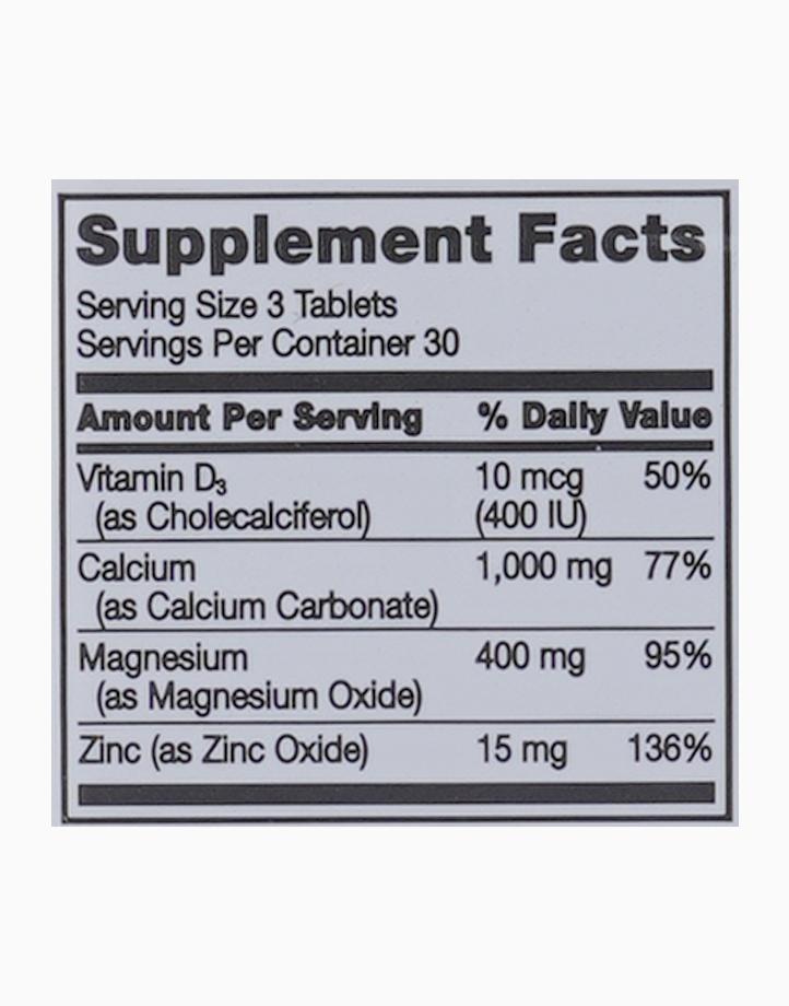 Calcium Magnesium Zinc + D3 (90 Tablets) by 21st Century