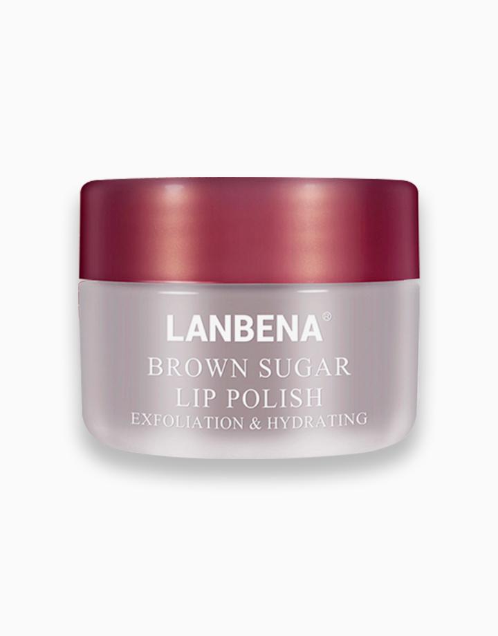 Brown Sugar Lip Polish Scrub by Lanbena