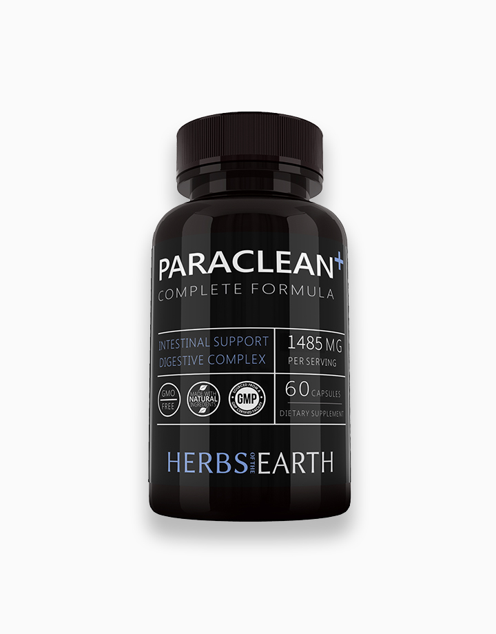 Paraclean+ Intestine Support (60 Vegetarian Capsules) by Herbs of the Earth