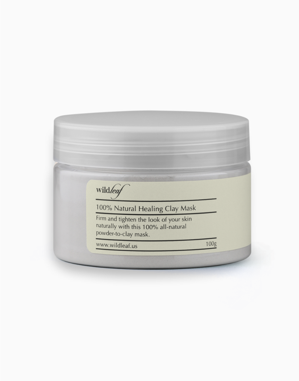 100% Natural Healing Clay Mask by Wildleaf