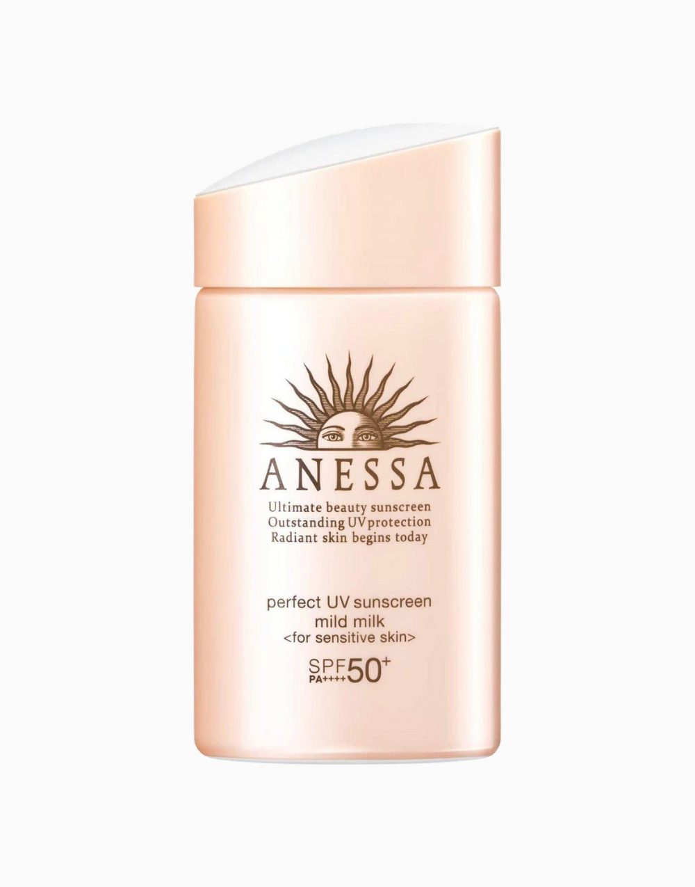 Perfect UV Sunscreen Mild Milk for Sensitive Skin SPF 50+ PA++++ (60ml) by Anessa