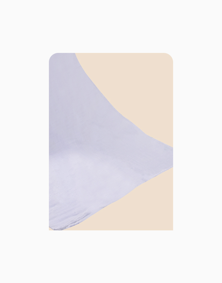 2-Layer Swaddle by Meet My Feet   Plain White