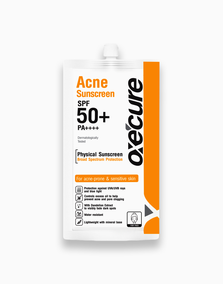 Acne Sunscreen SPF 50+/PA++++ (6g) by Oxecure