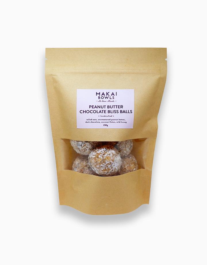 Peanut Butter Chocolate Bliss Balls (250g) by Makai Bowls