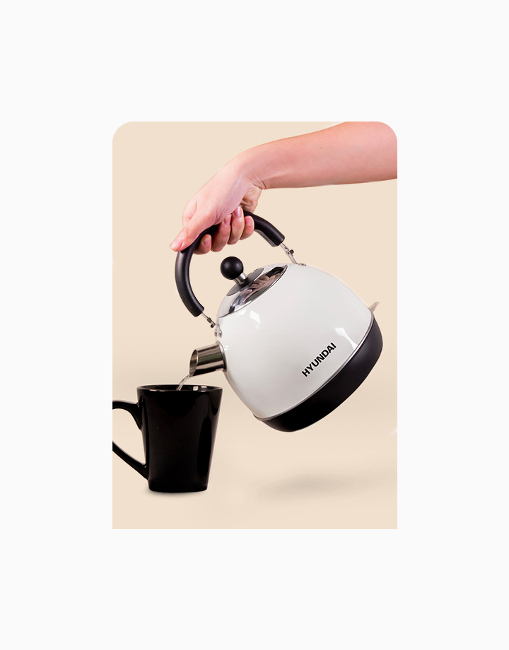 Hyundai 1.8L Capacity Stainless Steel Body Electric Kettle by Hyundai Home Appliances |
