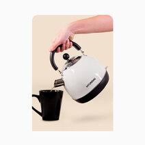 Hyundai 1.8L Capacity Stainless Steel Body Electric Kettle by Hyundai Home Appliances