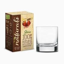 Naturals stevia zero calorie sweetener 100 sticks w free round glass 1