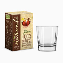 Naturals stevia zero calorie sweetener 100 sticks w free square glass 1