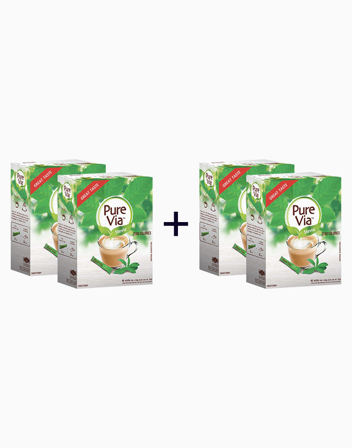 Pure Via Stevia - 40 Sticks (Buy 2, Take 2) by Equal Philippines