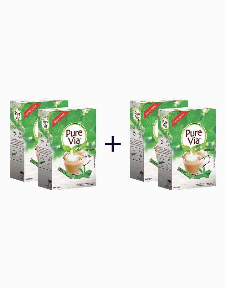 Pure Via Stevia - 100 Sticks (Buy 2, Take 2) by Equal Philippines