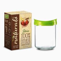 Naturals stevia 1 box x 100 sticks w free luminarc vacuum jar 1