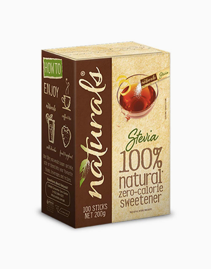 Naturals Stevia - 1 Box x 100 Sticks with Free Luminarc Vacuum Jar by Equal Philippines