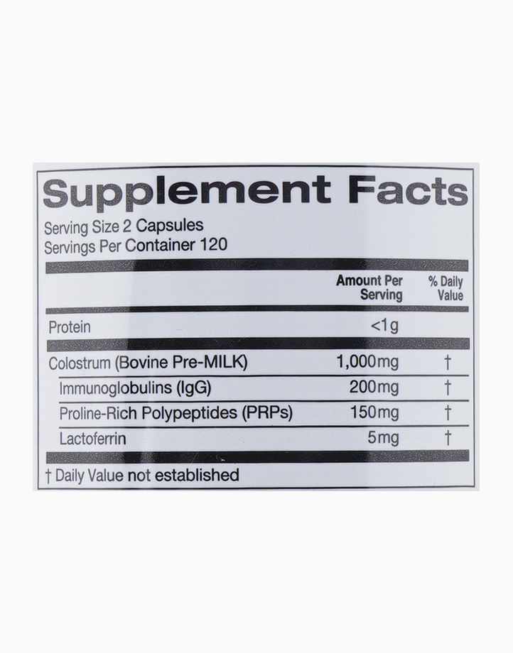 Colostrum (240 Veggie Capsules) by California Gold Nutrition