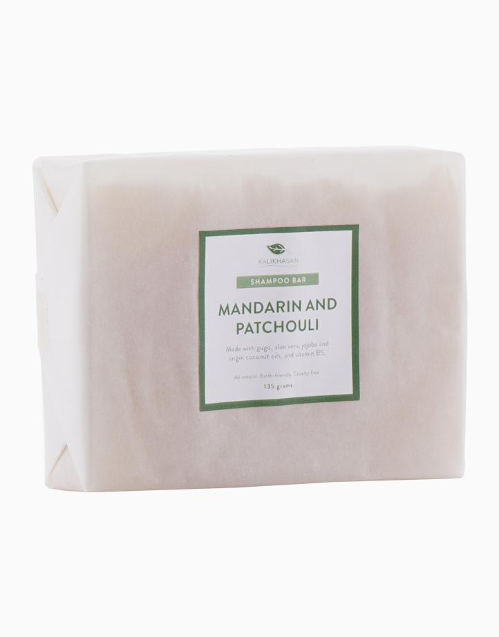 Mandarin and Patchouli Shampoo Bar (135g) by Kalikhasan Eco-Friendly Solutions