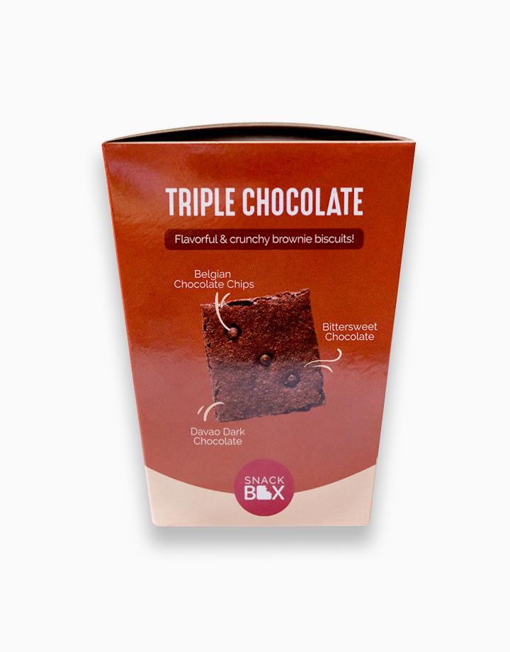 Triple Chocolate Brownie Crunch (Bundle of 6) by Snack Box