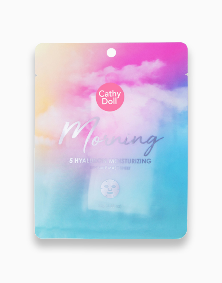 Morning 5 Hyaluron Moisturizing Invisible Mask Sheet by Cathy Doll