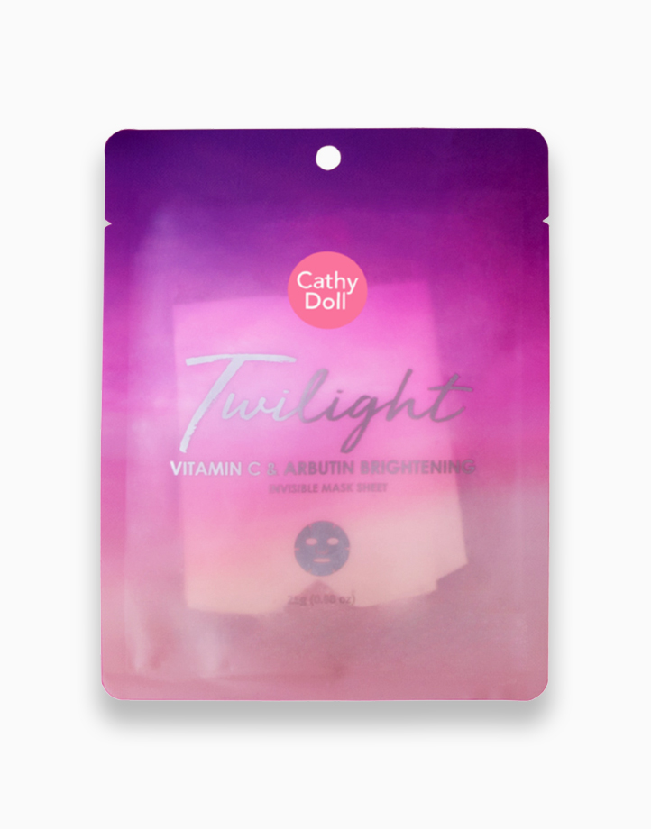 Twilight Vitamin C & Arbutin Brightening Invisible Mask Sheet by Cathy Doll