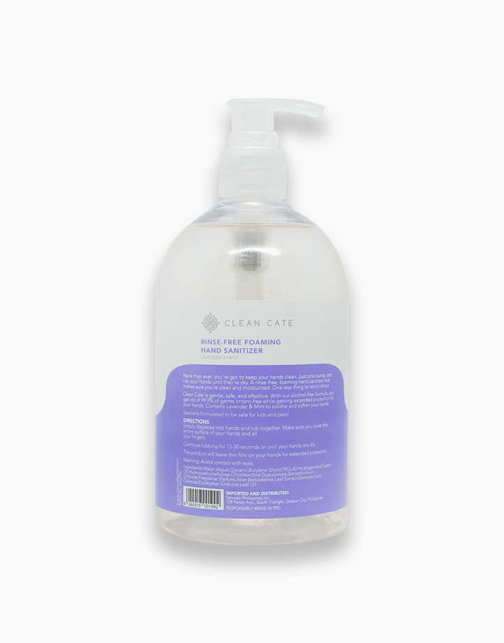 Foaming Hand Sanitizer - Lavender & Mint (500ml) by Clean Cate