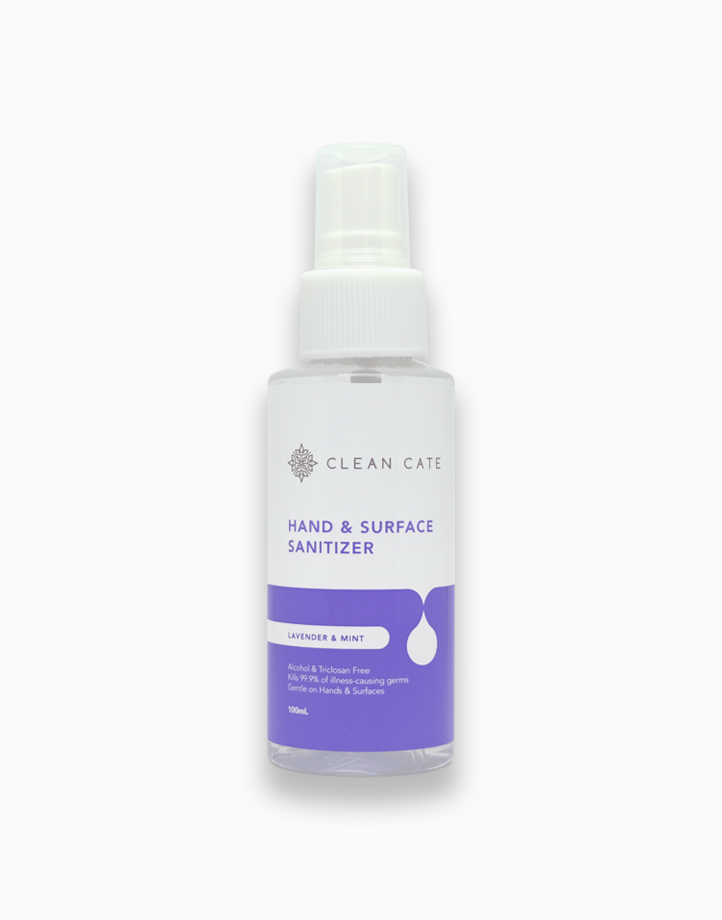 Hand and Surface Sanitizer - Lavender & Mint (100ml) by Clean Cate