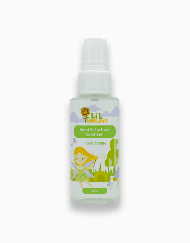 Hand and Surface Sanitizer - Pixie Green (100ml) by Li'l Sunflower